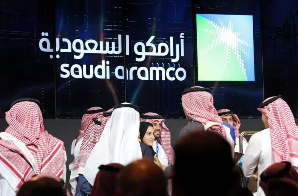 Aramco shares up 1.6% in third consecutive day of gains