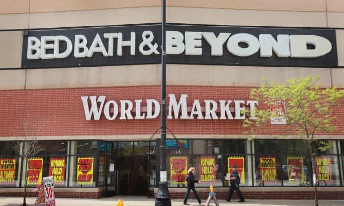 Bed Bath & Beyond's New CEO Fires Most of His Executive Circle