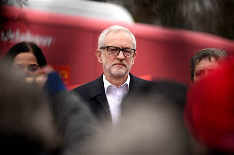 Socialist Jeremy Corbyn to step down as leader of Labour Party after projected defeat in U.K. election