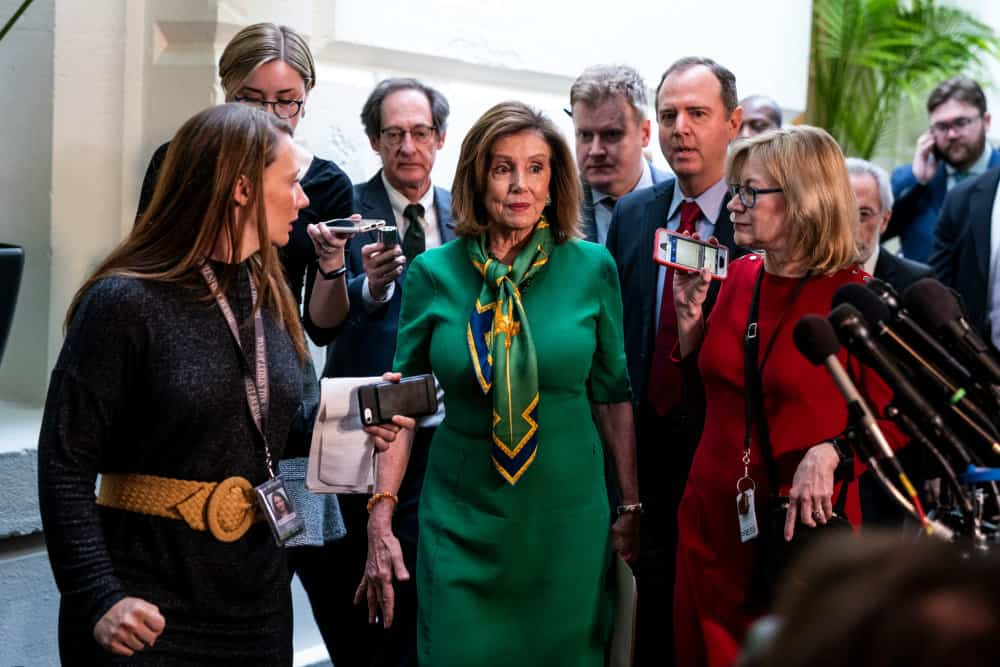 House Will Vote Wednesday to Send Impeachment Articles, Pelosi Says