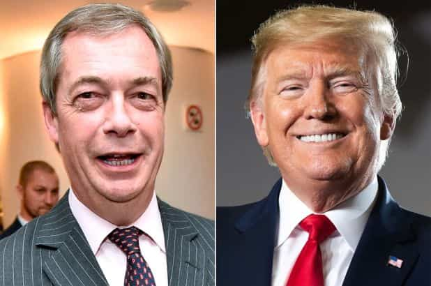 Brexit boss Nigel Farage to attend Trump's State of the Union