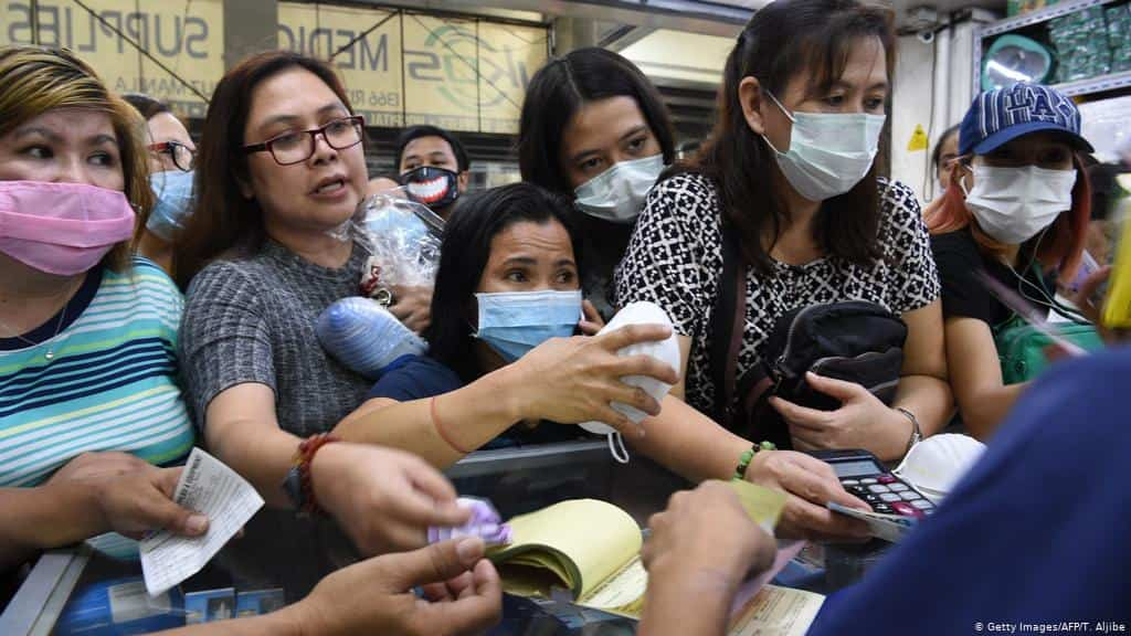Philippines reports first death outside of China in coronavirus outbreak