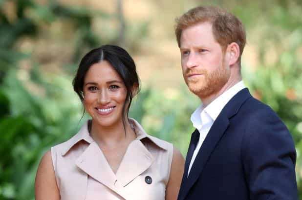 Prince Harry and Meghan Markle make first public appearance since Megxit