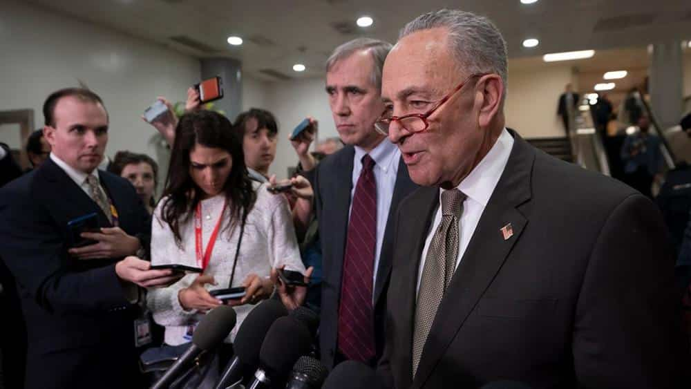 Schumer says impeachment has 'been a positive' for Democrats