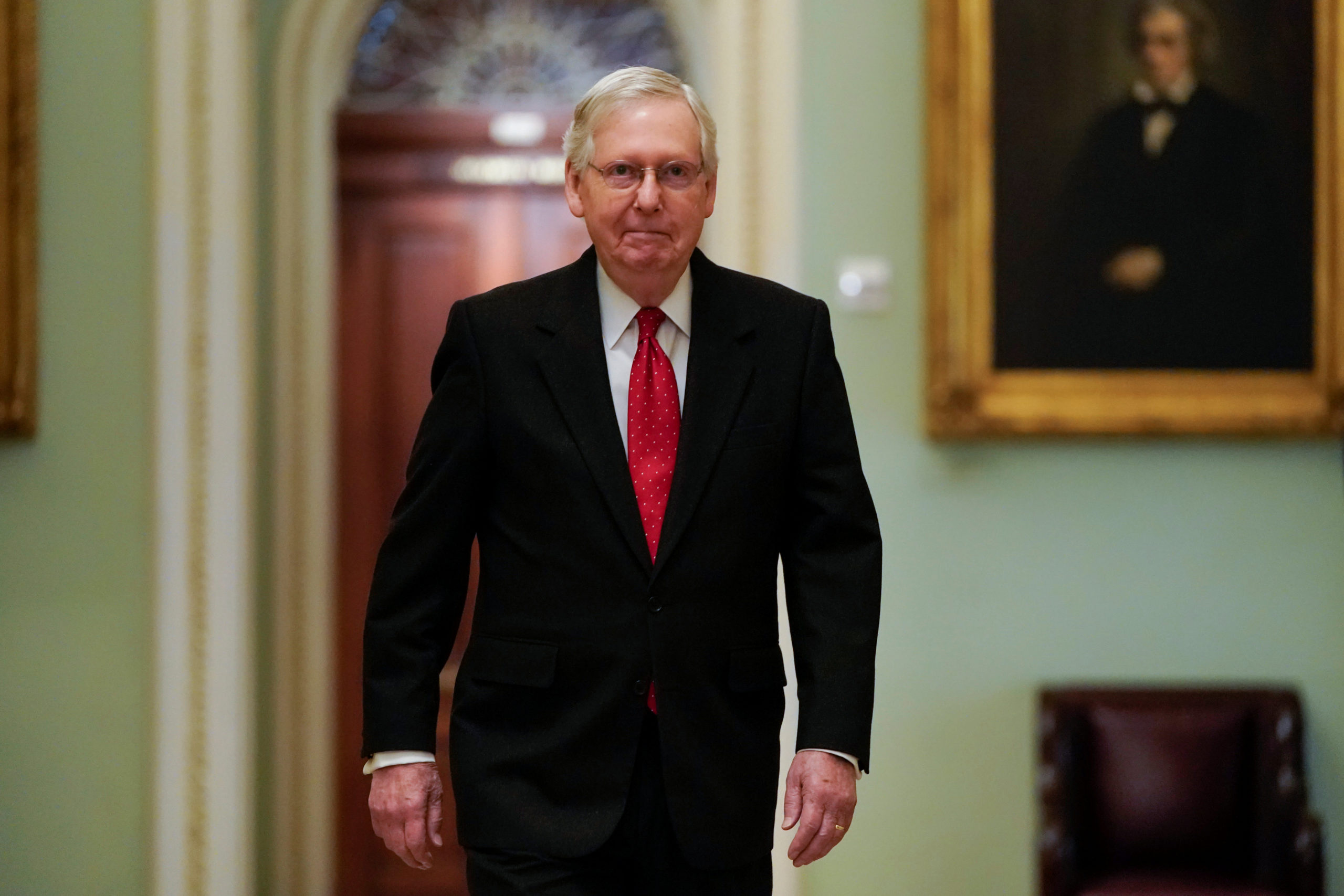 mcconnell says a vote on coronavirus relief could happen this week