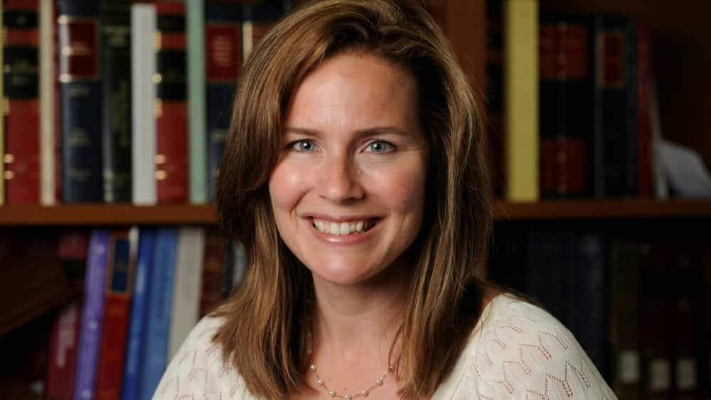 Amy Coney Barrett currently serves as a judge on the Seventh US Circuit Court of Appeals