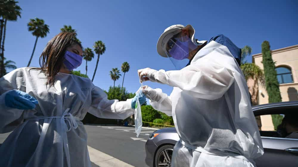 coronavirus latest california florida report smallest monthly rise in cases since may