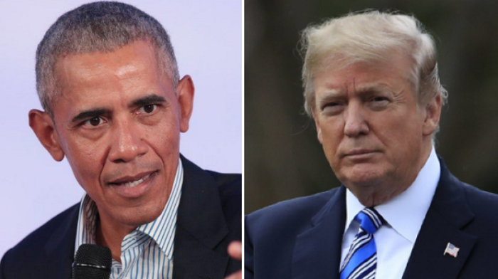 angry obama rails against trump calls him a two bit dictator