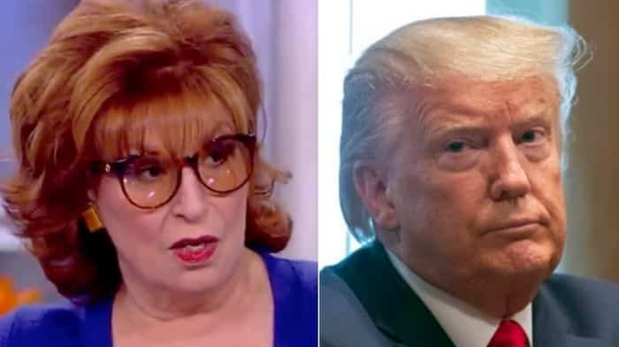 joy behar claims trump is so evil that he wants biden to inherit spreading covid