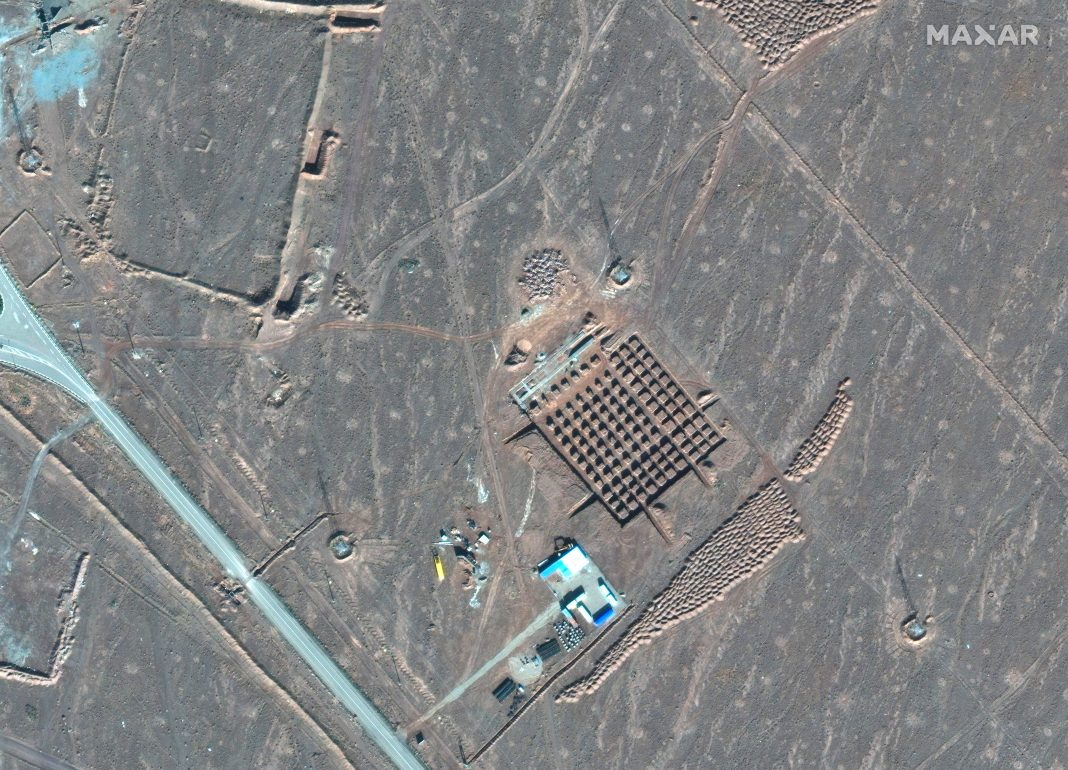 iran moves air defences to nuclear sites and warns trump strike could trigger war worse than iraq