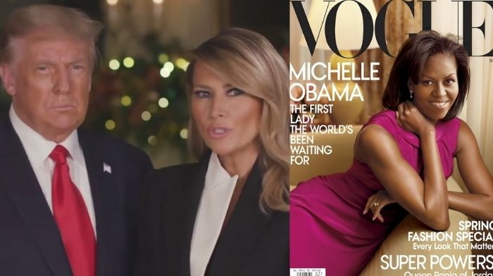 trump livid that melania hasnt been on any magazine covers while michelle obama was on 12