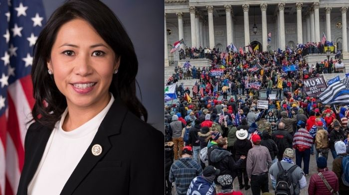 dem rep introduces bill barring security clearances for capitol rioters qanon believers