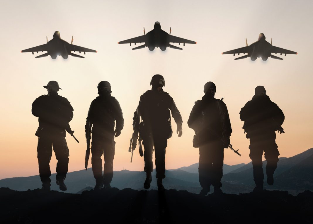 us military stands guard against iranian attack