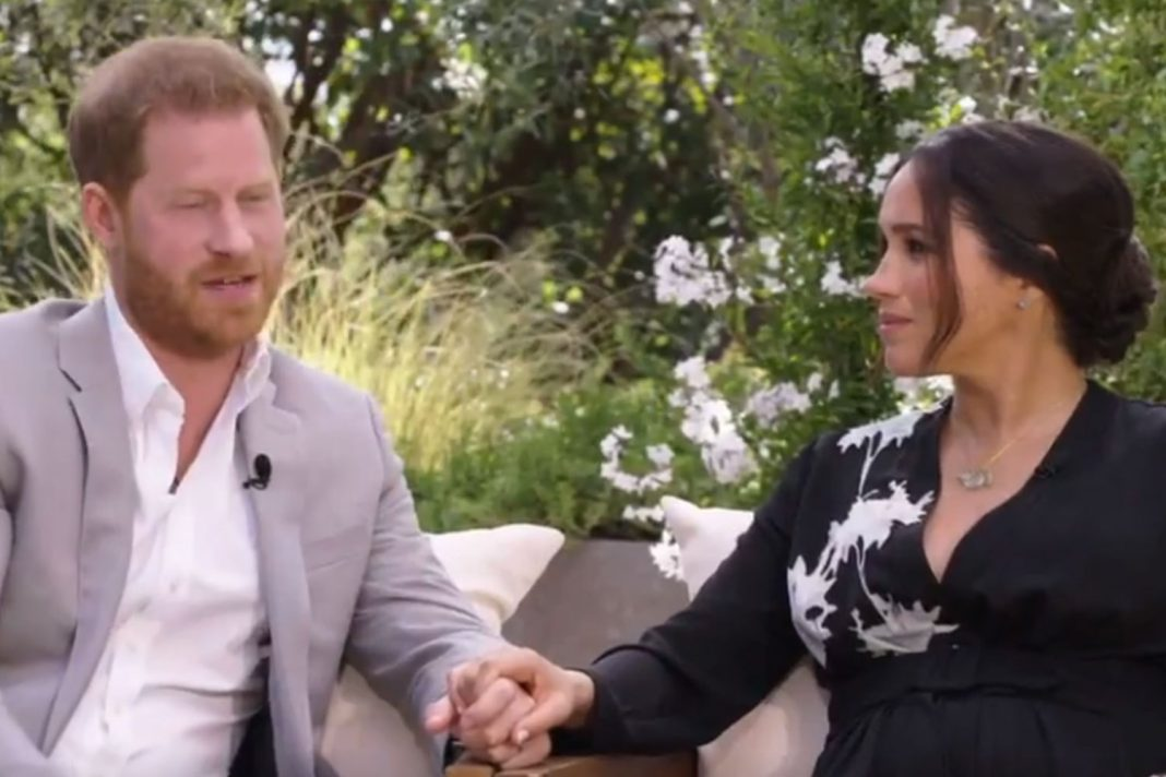 harry hints he left uk as he feared meghan would suffer same fate as diana in preview of tell all oprah interview