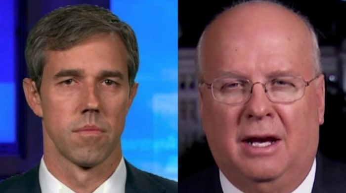 karl rove reveals why hes looking forward to beto running for texas governor nothing succeeds like failure for him