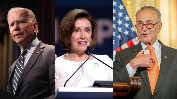 pelosi schumer begin process of potentially bypassing gop to push covid relief through congress