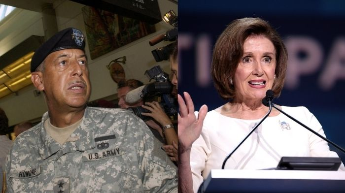 retired general tapped by pelosi to investigate capitol riot has far left conspiracy history