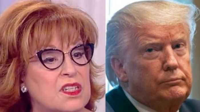 joy behar says if trump runs for president in 2024 it will be from rikers island prison